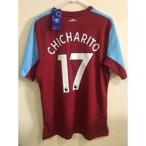 Umbro Shirts - Chicharito Umbro West Ham Home Soccer Jersey 04d8298d8
